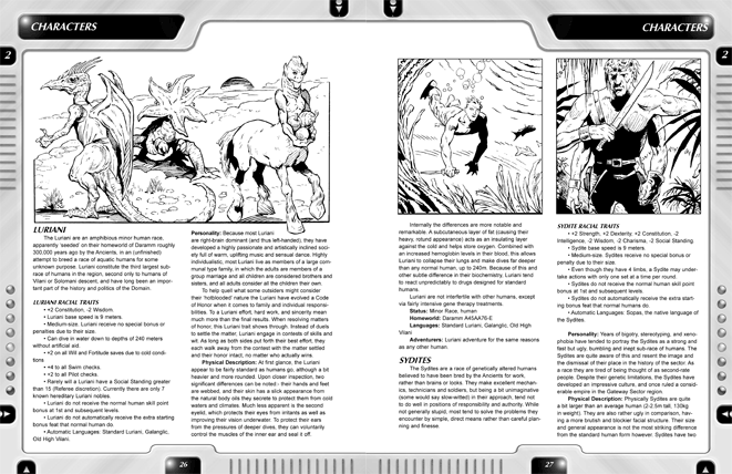 Traveller's Handbook pages 28-29